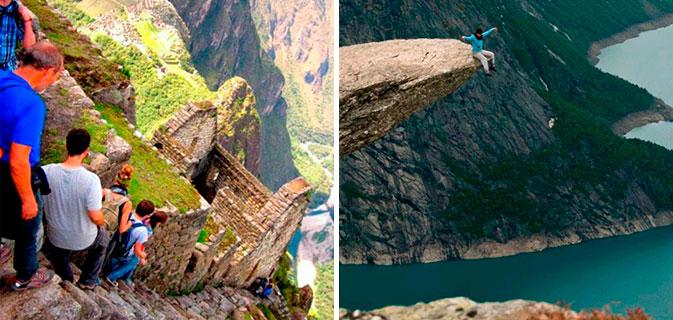 21 imagens proibidas para quem tem medo de altura