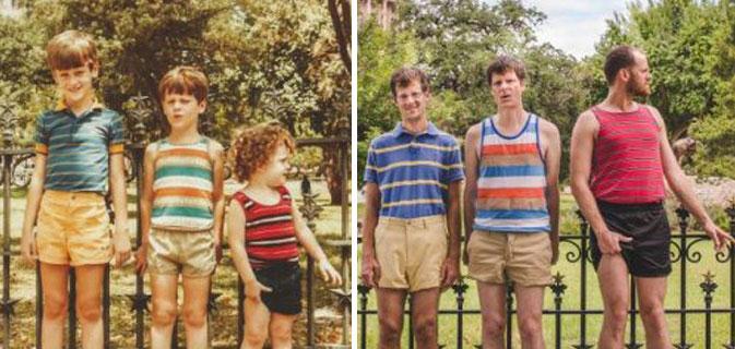 Veja 18 antigas fotos de família reconstituídas #2