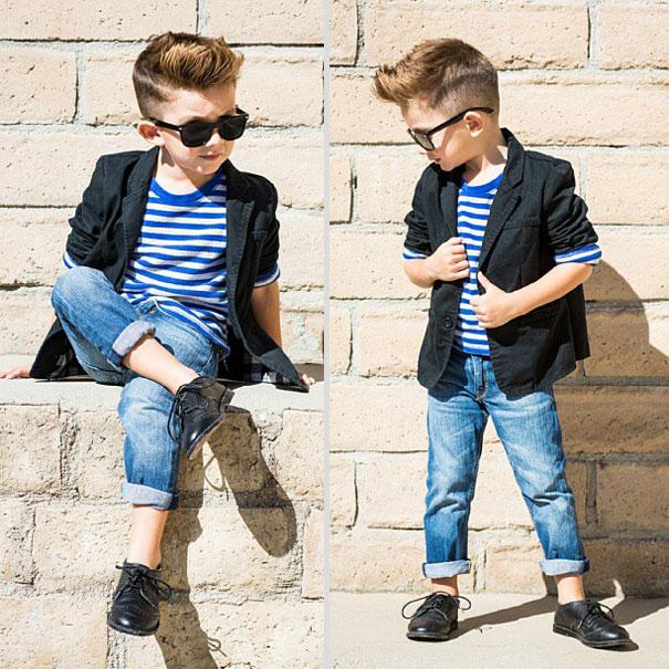 29 crianças que se vestem bem melhor do que você! 3f71e20b65a