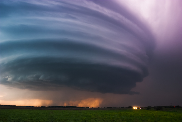 Nebraska Twilight Supercell