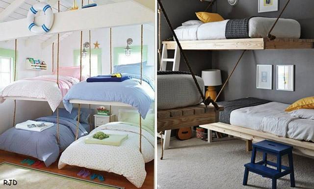 Veja 12 camas extremamente criativas e diferentes for Sofa que se transforma em beliche
