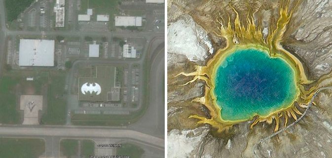 27 Descobertas impressionantes no Google Earth