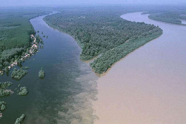 Os 10 encontros de águas mais belos do mundo