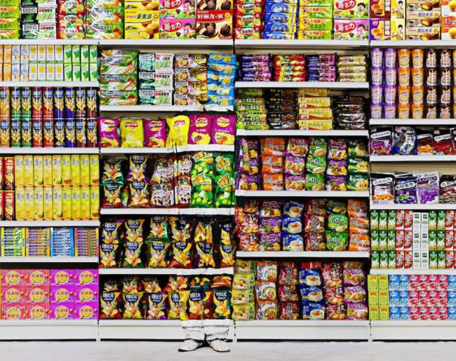 Liu Bolin - Hiding in the City - Puffed Food.jpg