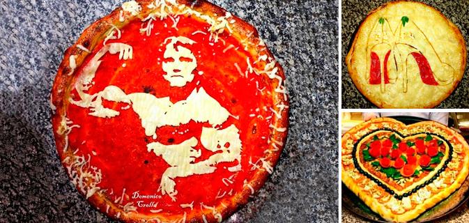 Você certamente pensaria duas vezes antes de devorar essas 24 obras de arte em forma de pizzas (ou não)