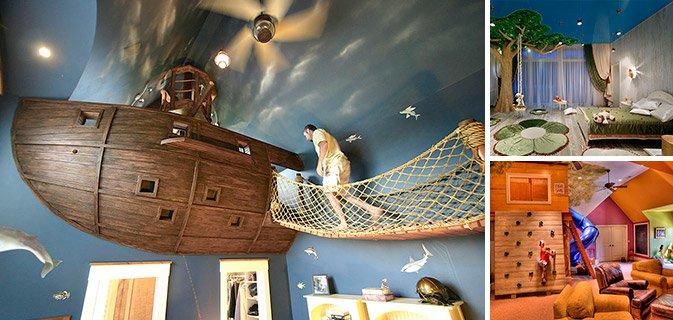 19 Ideias criativas de quarto de criança que farão você desejar voltar no tempo e ser criança novamente