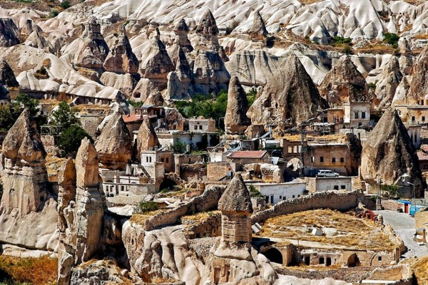 Goreme (underground city), Turkey