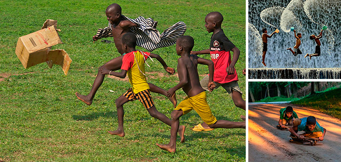 32 fotos mgicas de crianas brincando ao redor do mundo
