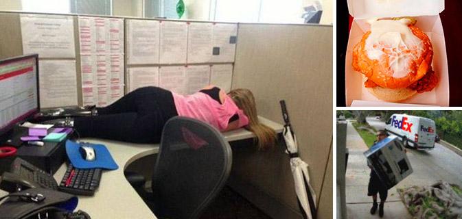 """18 Funcionários que não estão """"nem aí"""" para nada"""