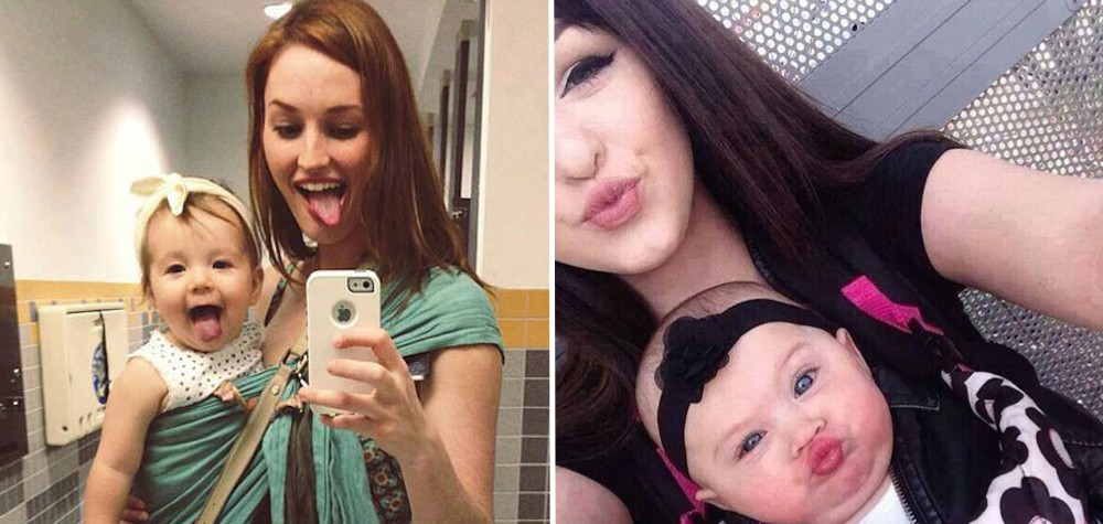 Tal mãe, tal filha | 22 Imagens mostrando o amor de mães e suas pequenas cópias