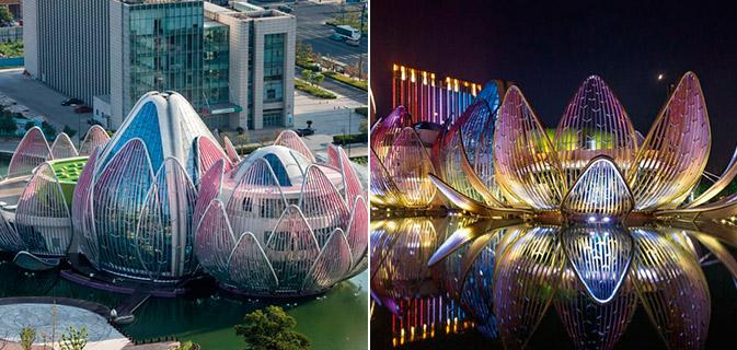29 Obras de arquitetura que ganham uma impressionante vida todas as noites