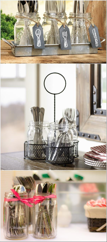 10 Ideias Para Organizar Os Talheres Da Sua Cozinha