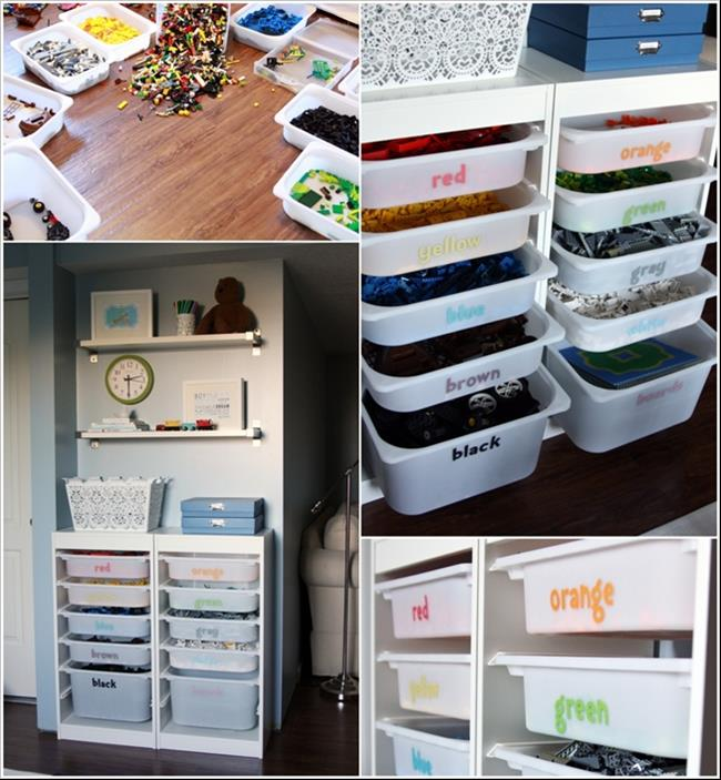 Playroom Closet Organization Ikea Hacks