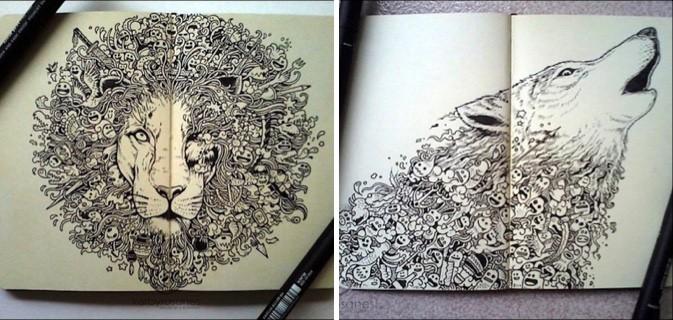 Você Pode Tentar Mas Dificilmente Seu Caderno De Desenhos