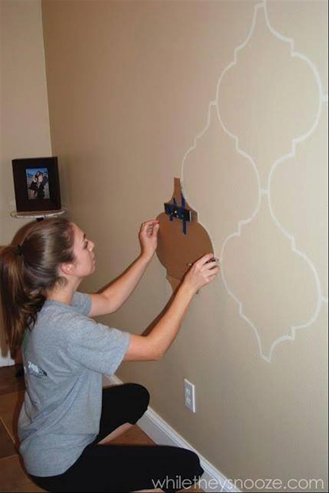 15 ideias incr veis e f ceis de pintura para as paredes da for Pintura decorativa efeito 3d