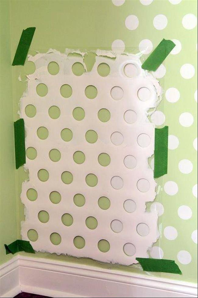 15 ideias incr veis e f ceis de pintura para as paredes da casa - Pintar facil paredes ...