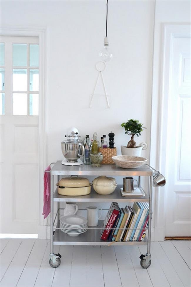 15 dicas geniais para aproveitar o espa o da sua cozinha for Estantes para cocina pequena