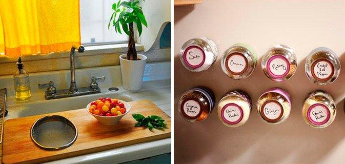 15 Dicas geniais para aproveitar o espaço da sua cozinha pequena