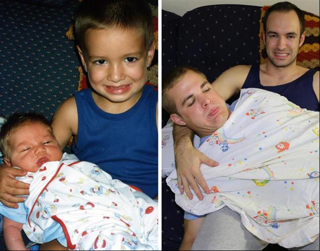 irmãos-recriam-foto-infância-1
