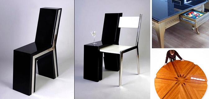 18 Móveis com designs muito estranhos mas que são incrivelmente úteis em qualquer casa