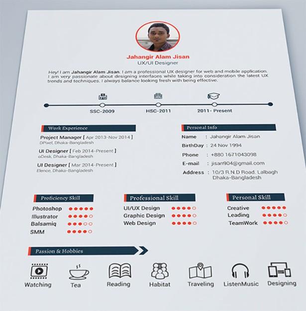 Best Resume Formats Ͽ� 40 Free Samples Examples Format Download: 16 Ideias De Currículos Geniais E Diferenciados Para Dar Uma Forcinha Na Hora De Conseguir Emprego