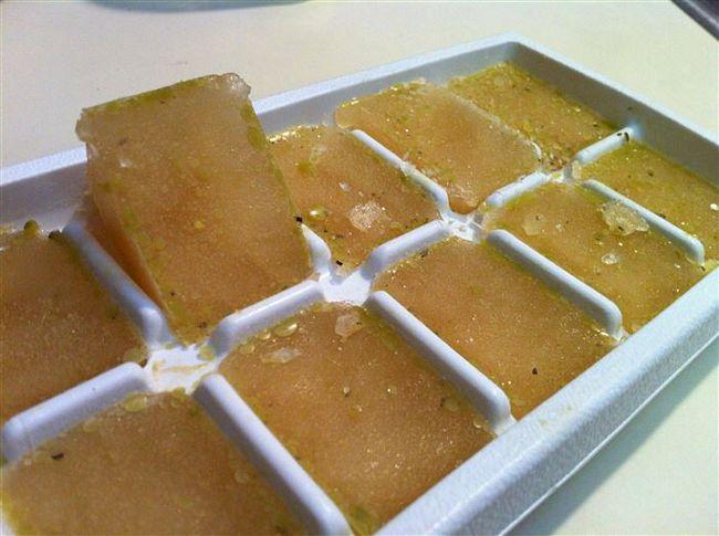 16 maneiras de usar a forma de gelo na cozinha