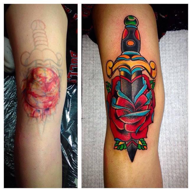 19 Knee Tattoo Designs Images And Pictures: 16 Pessoas Que Se Arrependeram Da Tatuagem Que