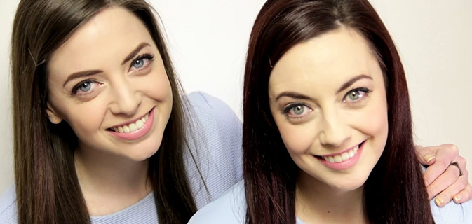 Gêmeas? | Mulher encontra uma estranha que se parece exatamente com ela