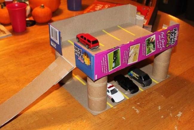 27 ideias que utilizam caixas de papel o para criar atividades e brincadeiras - Ouvrir un magasin de bricolage ...