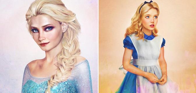 Artista imagina como seriam as personagens da Disney se elas fossem reais nesta fantástica coleção de imagens
