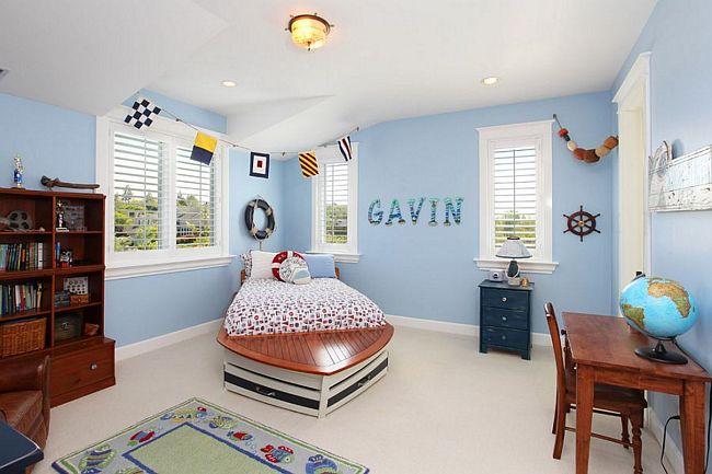 S falta a brisa 19 lindas ideias que levar o o clima de praia para o seu quarto - Maritimes kinderzimmer ...