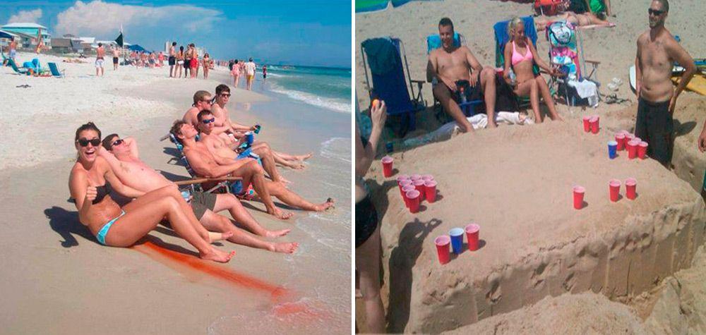 27 Cenas que não se vê todo dia capturadas na praia