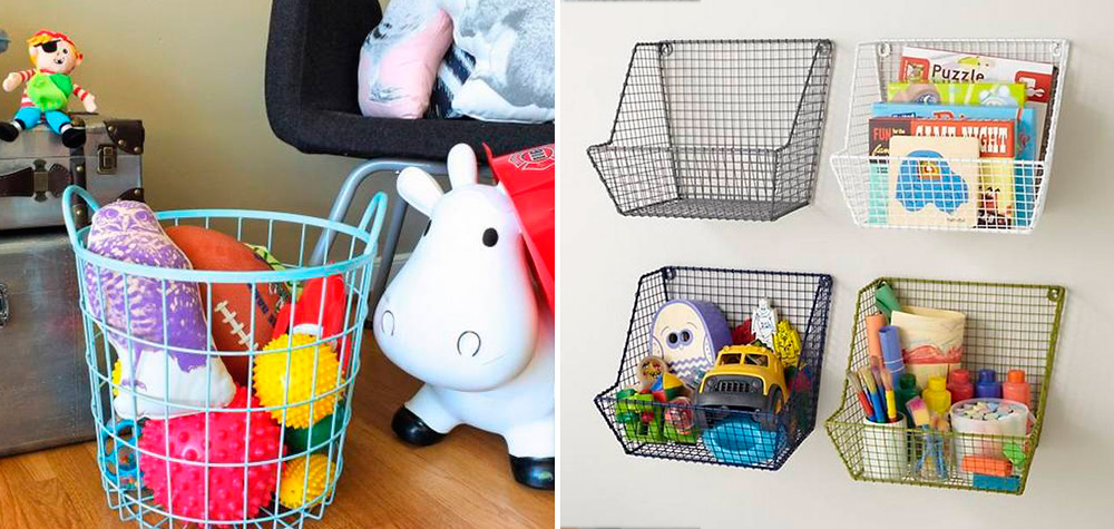 21 Ideias para guardar as coisas no quarto das crianças