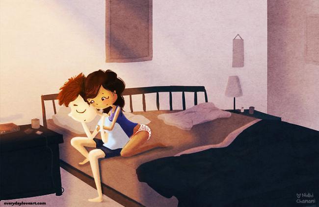 Pequenos Gestos Novas Ilustra Es Mostram Que O Amor Verdadeiro Pode Ser Muito Mais Simples