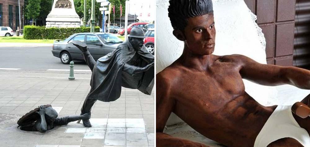 20 Esculturas pelo mundo que precisam – definitivamente – de uma explicação!