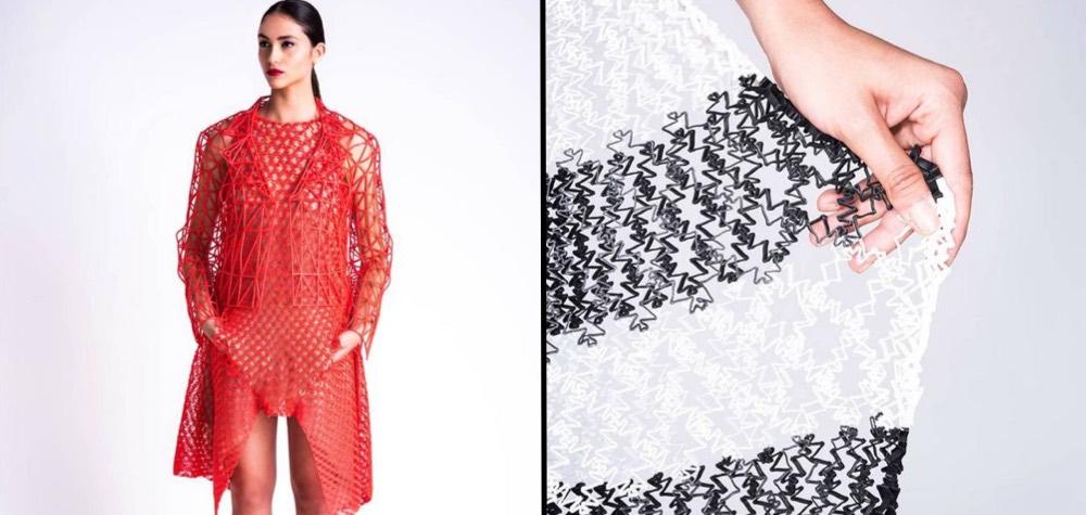 Estilista do futuro   Estudante cria sua própria coleção de roupas utilizando uma impressora 3D