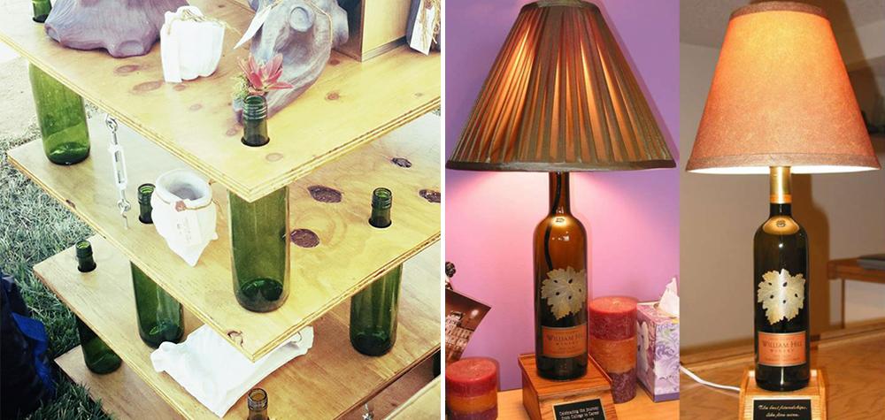 23 Ideias criativas e realmente úteis para reutilizar garrafas de vidro