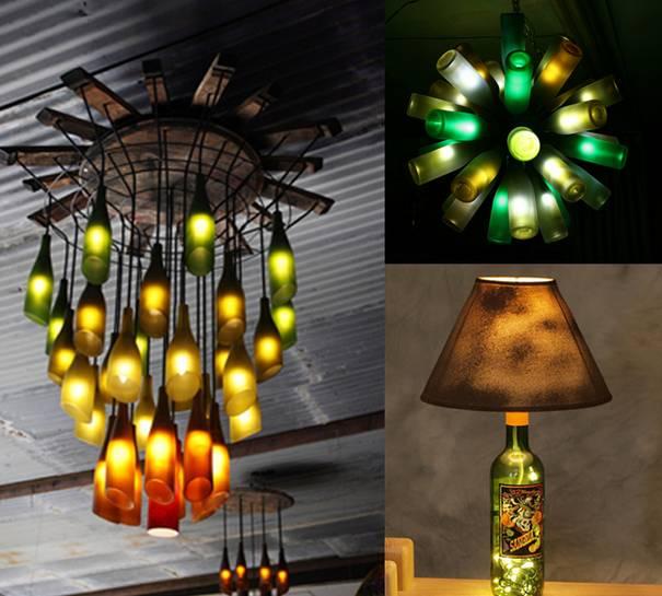 21 Creative Diy Lighting Ideas: 23 Ideias Criativas E Realmente úteis Para Reutilizar
