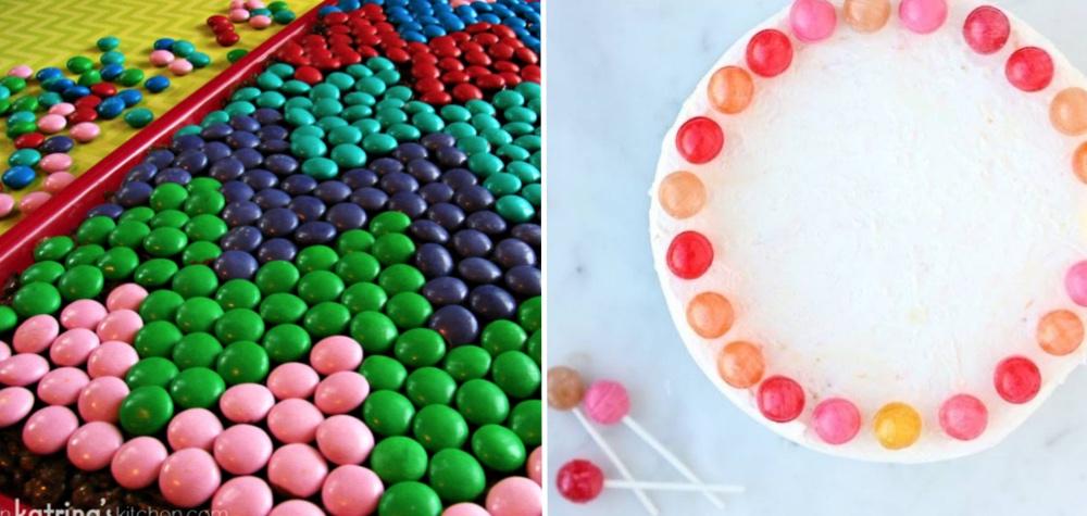 25 Formas ridiculamente fáceis e criativas de decorar um bolo