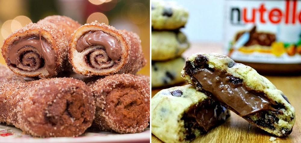 10 Receitas para fazer com Nutella que todos os viciados irão adorar