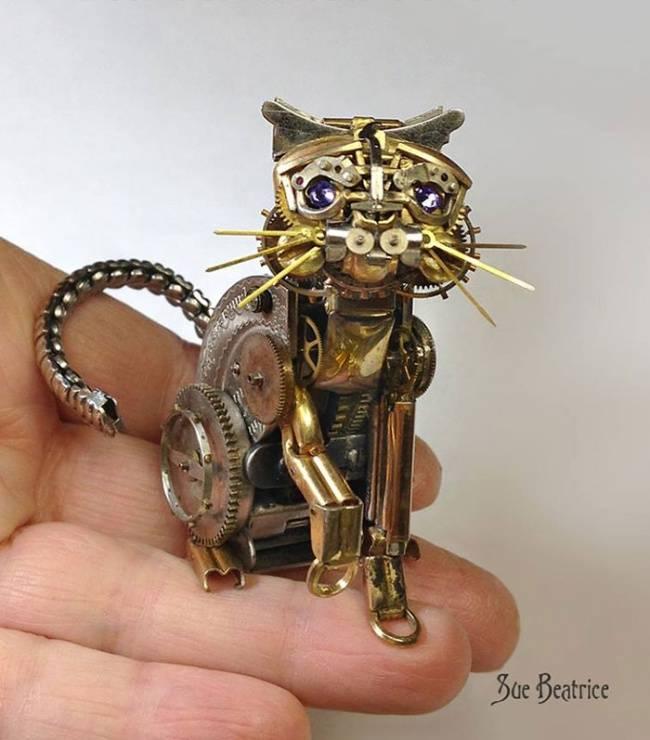 artista-cria-animais-com-mecanismos-de-relógios-velhos-4