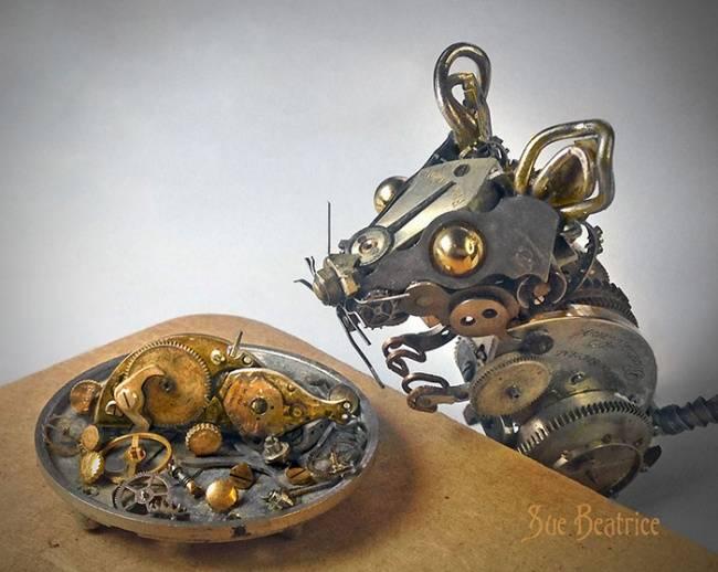 artista-cria-animais-com-mecanismos-de-relógios-velhos-5