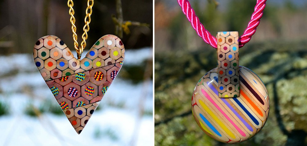 Criatividade colorida | Designer cria peças únicas usando lápis de cor