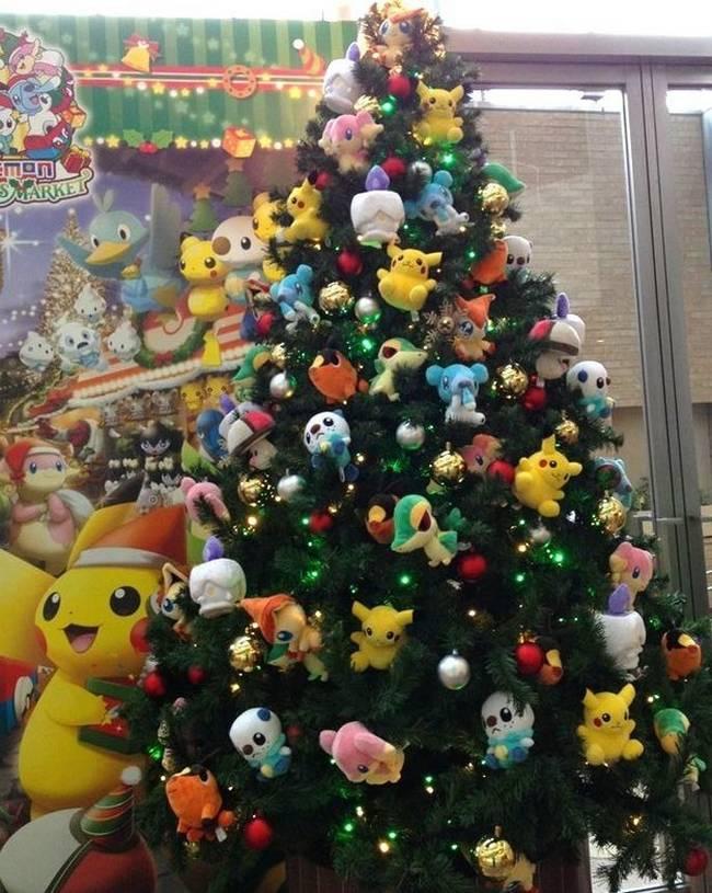 decorar a arvore de natal jogos:11 Ideias de decoração de Natal que todo geek vai amar