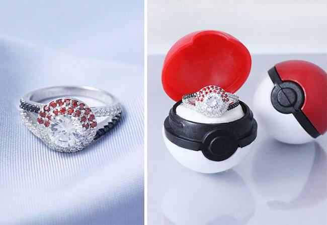 Gamer wedding rings