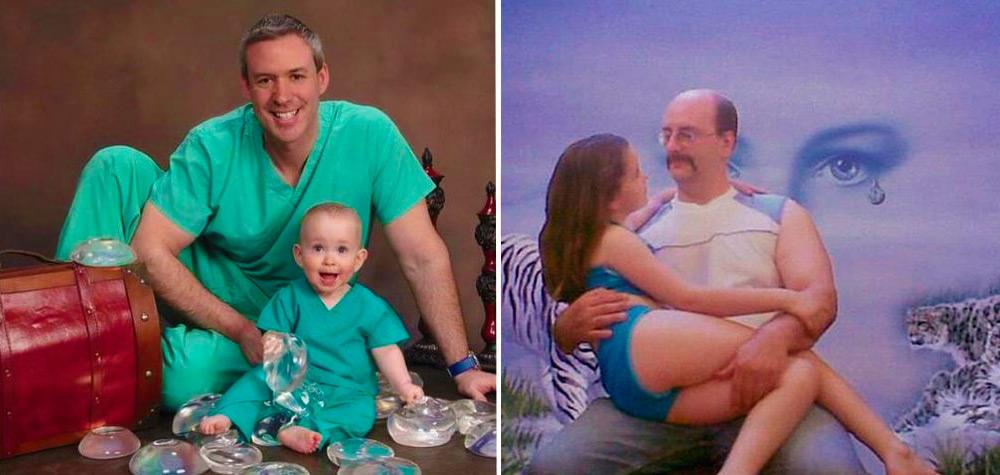 22 Pais que arruinaram as fotos de família