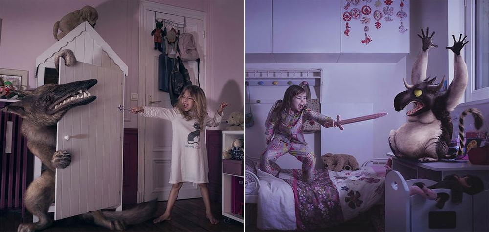 Crianças corajosas lutam contra os piores monstros de seus pesadelos