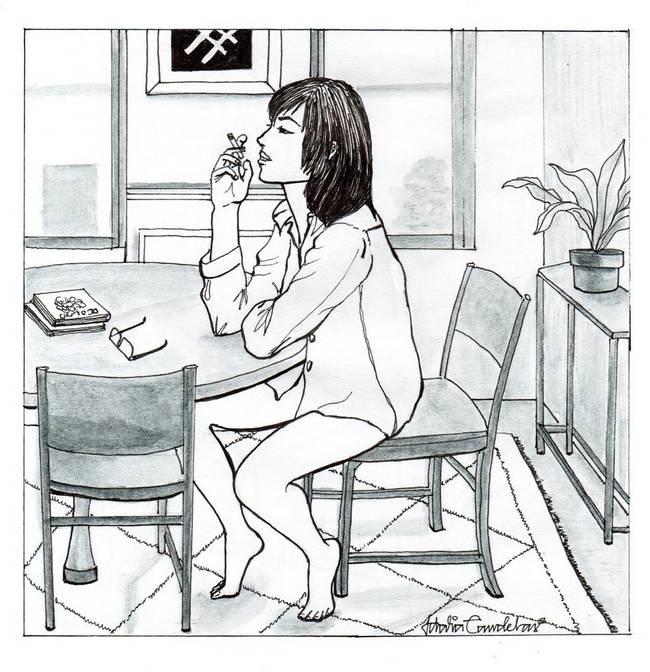 ilustrações-mostram-mulheres-que-moram-sozinhas-7