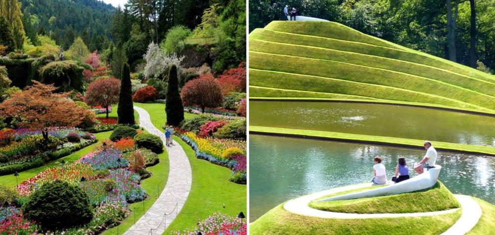 10 dos jardins mais estonteantes do mundo e que voc for Jardin de metis 2016