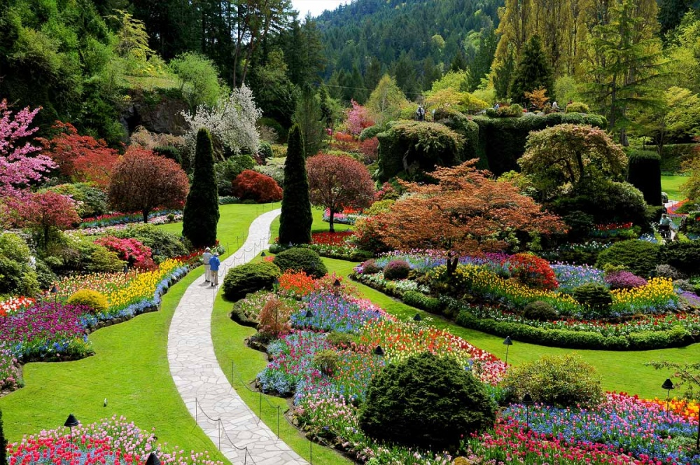 10 dos jardins mais estonteantes do mundo e que voc for Decoracion de jardines y parques